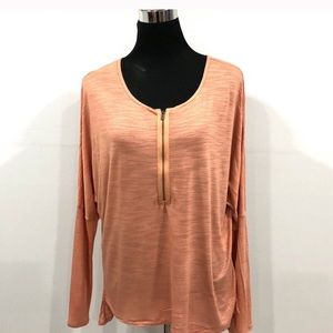 BCBG MaxAzria dolman sleeves top